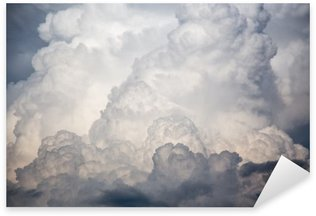 Sticker - Pixerstick big clouds storm