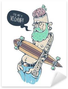 Sticker - Pixerstick Bizarre Hipster Art