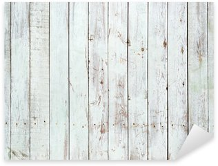 Black and white background of wooden plank Sticker - Pixerstick