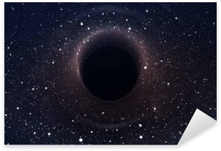 Black hole in deep space, glowing mysterious universe. Elements of this image furnished by NASA Sticker - Pixerstick