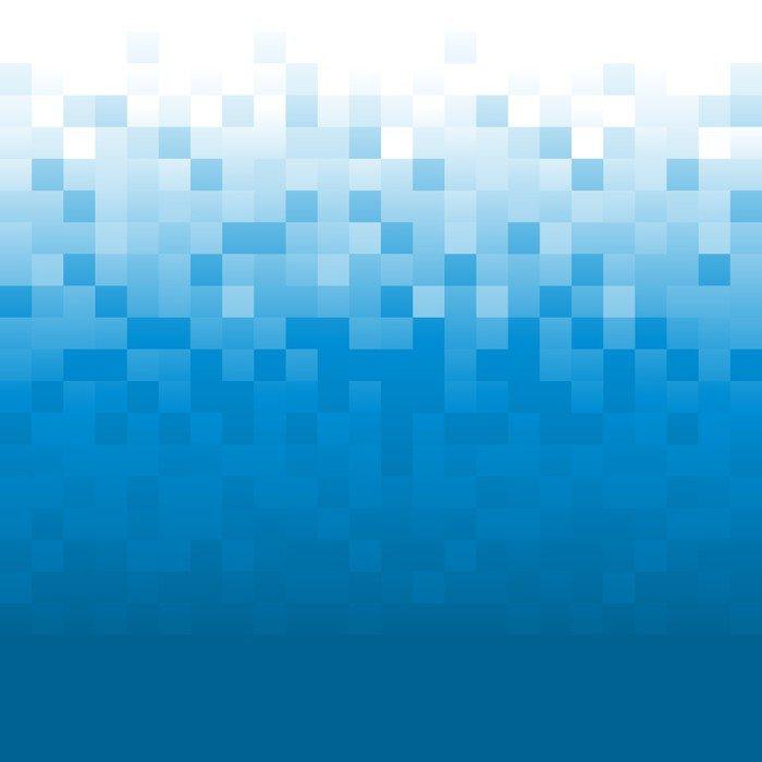 blue pixel background sticker - pixerstick • pixers® • we live to