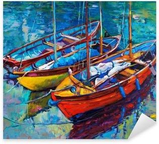 Pixerstick Sticker Boats