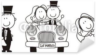 Pixerstick Sticker Bruiloft storyboard