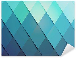 Sticker - Pixerstick Business hipster color background pattern