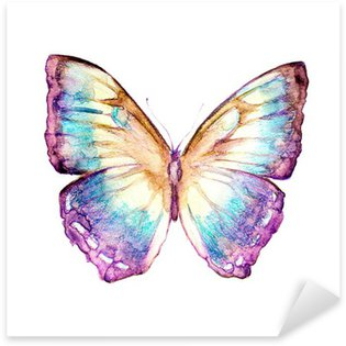 Sticker - Pixerstick butterflies design
