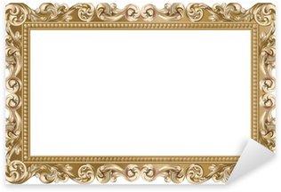 Pixerstick for All Surfaces Cadre baroque rectangulaire doré