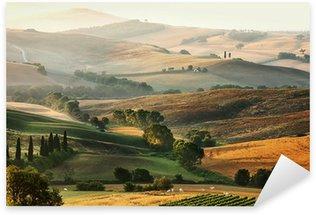 Sticker Pixerstick Campagne italienne en Toscane