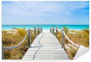 Pixerstick Sticker Caribische strand