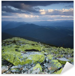 Carpathian mountain landscape Sticker - Pixerstick