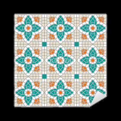 Carrelage motif ancien sticker pixers we live to change for Carrelage motif ancien