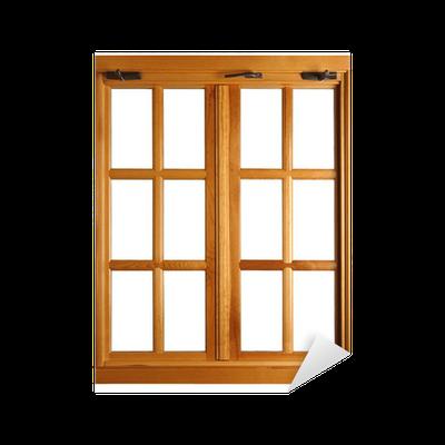 sticker ch ssis de fen tre isol pixers nous vivons pour changer. Black Bedroom Furniture Sets. Home Design Ideas