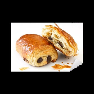 Sticker Chocolate croissant • Pixers® - Nous vivons pour ...