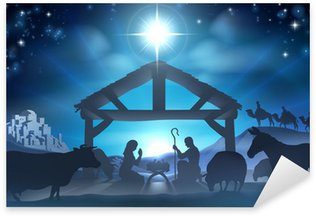 Pixerstick for All Surfaces Christmas Nativity Scene