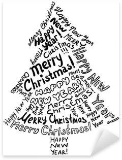 Sticker - Pixerstick Christmas tree