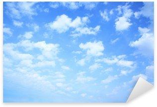 Sticker Pixerstick Ciel et nuages