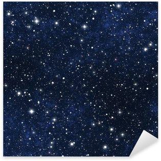 Sticker Pixerstick Ciel étoilé la nuit