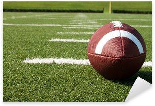 Sticker - Pixerstick Closeup of American Football on Field