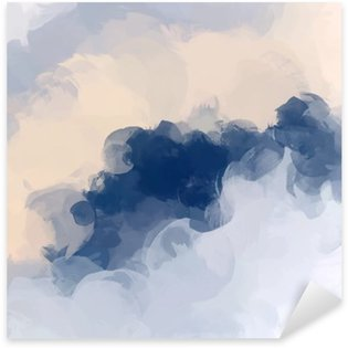 Sticker - Pixerstick Clouds abstract background
