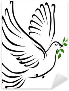Sticker - Pixerstick Colomba della pace