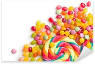 colorful confectionery Sticker - Pixerstick