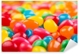 Colorful Jellybeans Sticker - Pixerstick