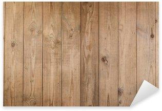 Sticker Pixerstick Contexte de vieux bois