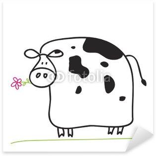 Sticker - Pixerstick Cow