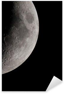 Crescent Moon Sticker - Pixerstick