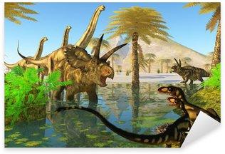 Sticker - Pixerstick Cretaceous Swamp