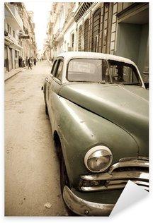 Sticker - Pixerstick Cuban antique car