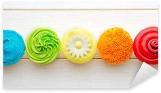 Pixerstick Sticker Cupcakes
