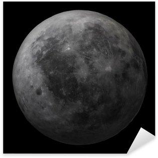 Dark side of the Moon - high resolution image Sticker - Pixerstick