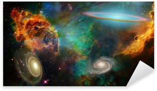 Deep Space Sticker - Pixerstick