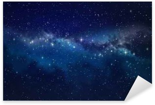 Deep space Sticker - Pixerstick