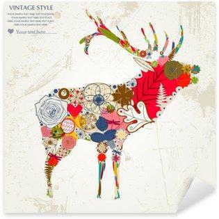 Pixerstick Sticker Deer