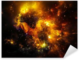 Depth of Nebula Sticker - Pixerstick
