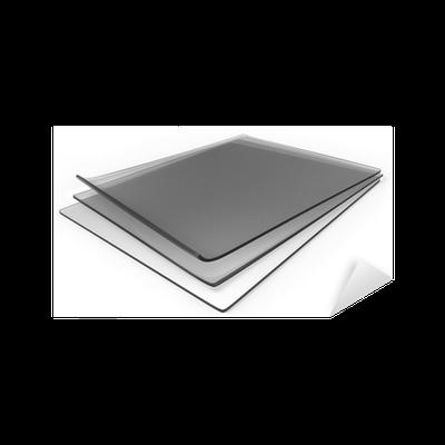 Sticker des feuilles de caoutchouc de silicone transparent pais pixers nous vivons pour - Protege table transparent epais ...