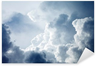 Sticker - Pixerstick Dramatic sky with stormy clouds
