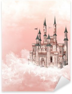 Sticker Pixerstick Dream Castle