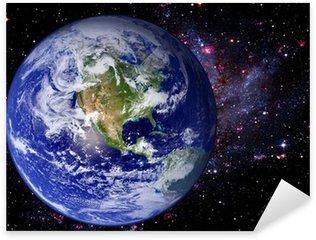Sticker - Pixerstick Earth Space Universe Galaxy