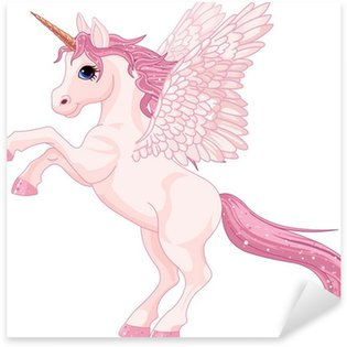 Pixerstick Sticker Eenhoorn Pegasus