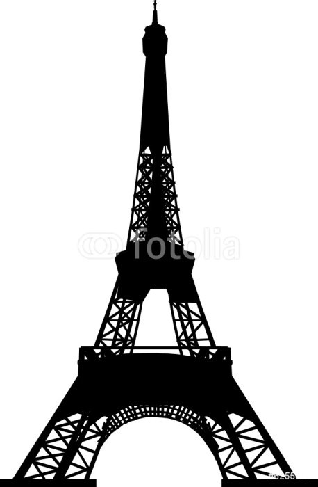 Sticker - Pixerstick eiffel tower vector file - Travel