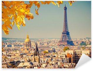 Sticker Pixerstick Eiffel tower
