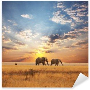 Sticker - Pixerstick Elephant