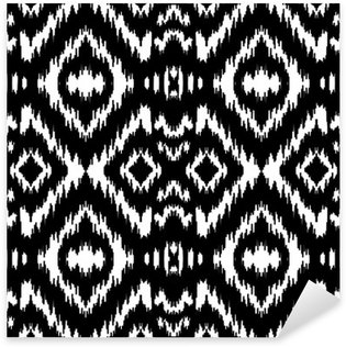 Sticker Pixerstick Ethnic seamless pattern