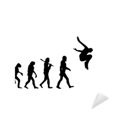 Evolution Parkour Sticker • Pixers® • We live to change
