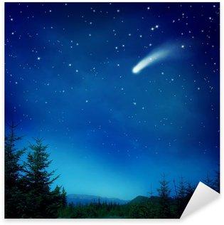 Falling star Sticker - Pixerstick
