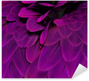 Sticker - Pixerstick Feathers; Purple