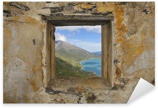 Sticker Pixerstick Fenêtre, le fort de la Turra France 1891-1895 m. 2580