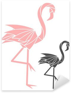 Flamingo Sticker - Pixerstick